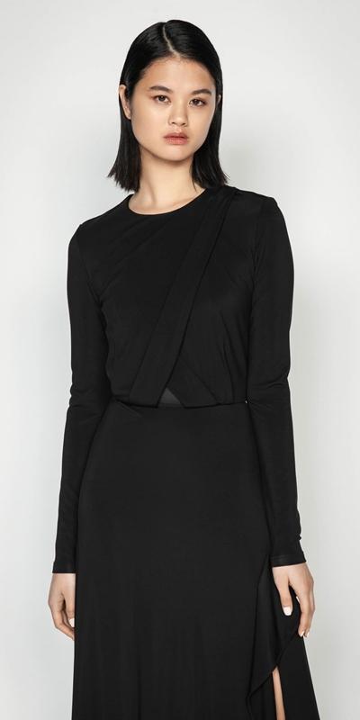 Dresses | Jersey Split Front Dress