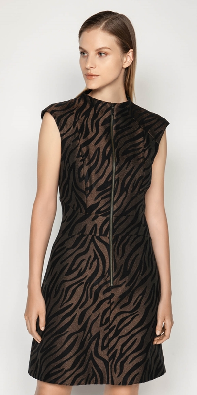 Dresses | Zebra Mini Dress