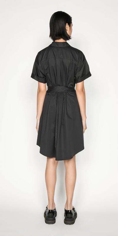 Dresses | Belted Shirt Dress