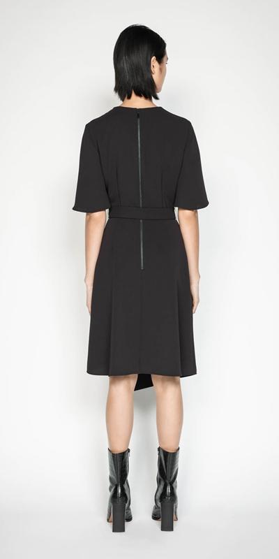 Dresses | Plum Belted Dress