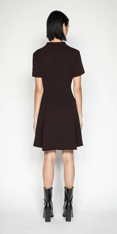 Dresses   Funnel Neck Dress