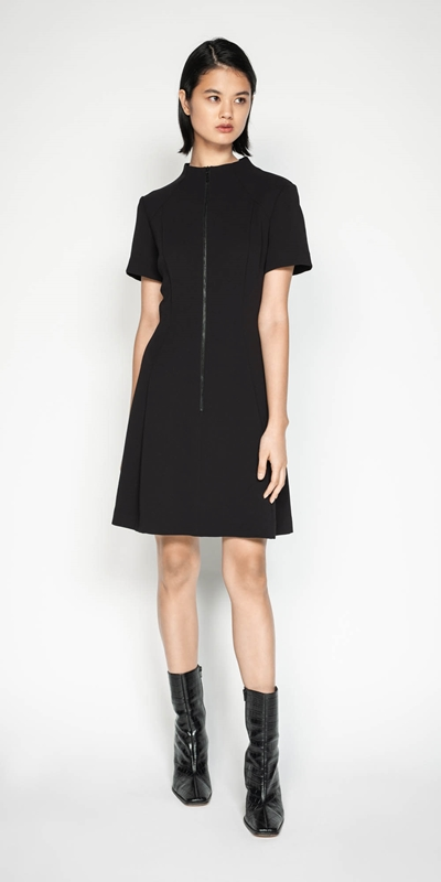 Sale | Funnel Neck Dress