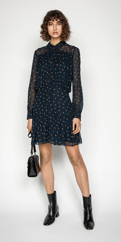 Made in Australia | Spot Button Front Dress