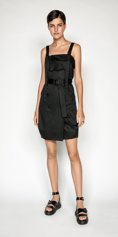 Made in Australia | Cotton Belted Button Front Dress