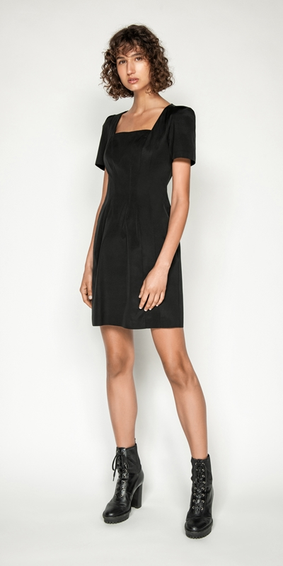 Made in Australia | Square Neck Shift Dress