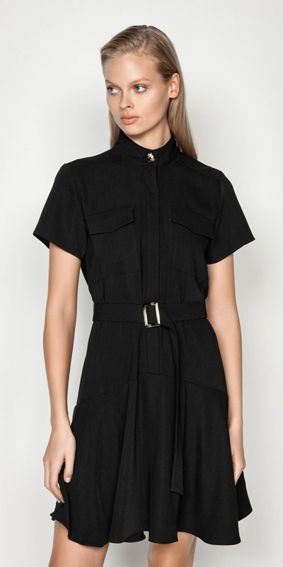Made in Australia  | Drapey Utility Dress