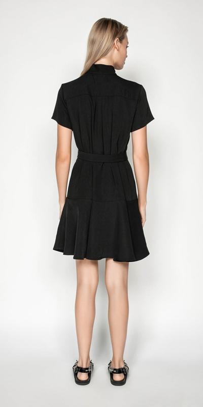 Dresses | Drapey Utility Dress
