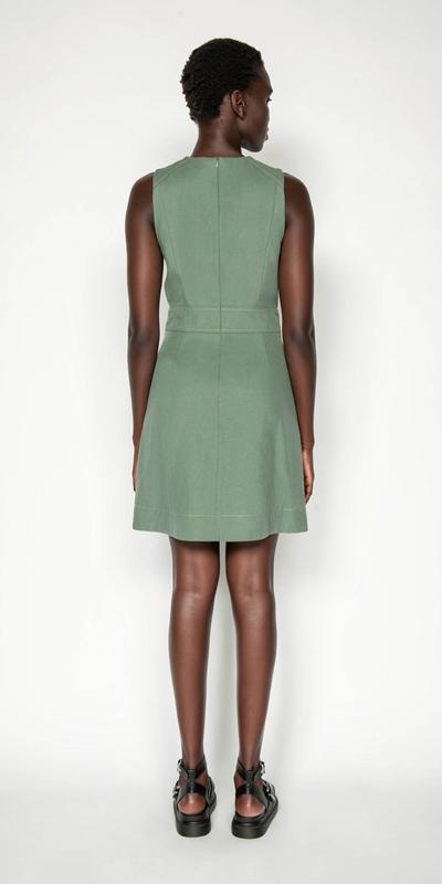 Dresses | Tencel Cotton Step Hem Dress