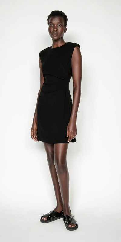 Made in Australia | Sharp Shoulder Shift Dress