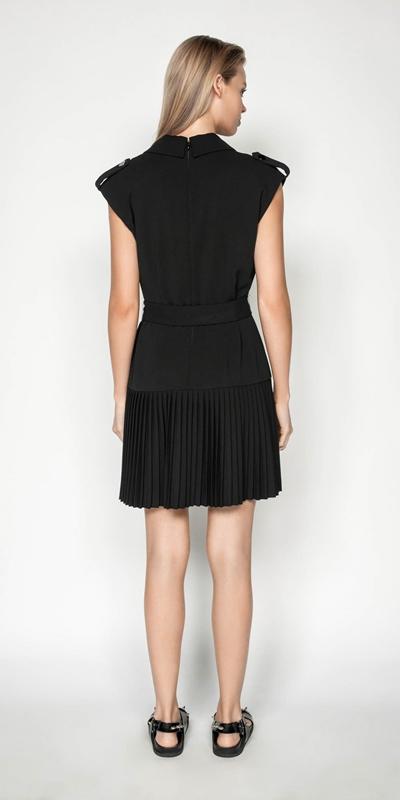 Dresses | Black Trench Dress