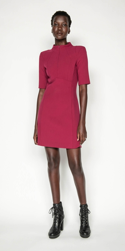 Dresses | Funnel Neck Dress