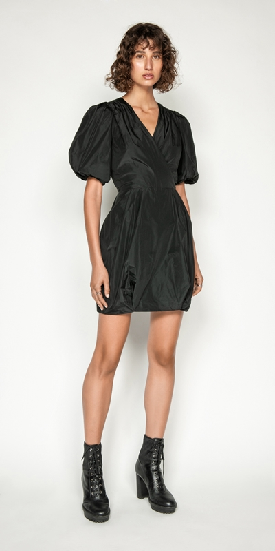 Made in Australia | Puff Sleeve Dress