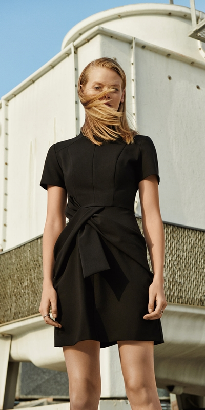 Wear to Work  | Twist Waist Dress