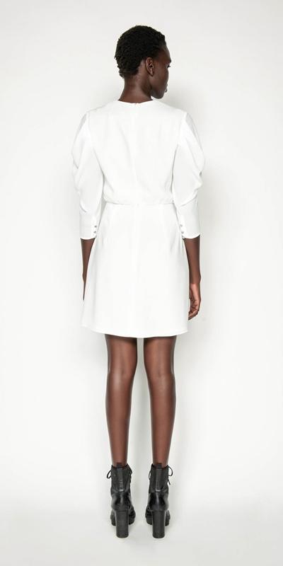 Dresses | Draped Sleeve Mini Dress