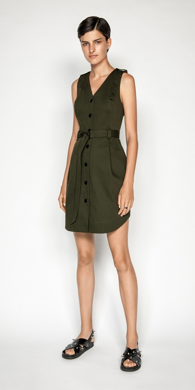 Made in Australia | Utility Snap Front Dress