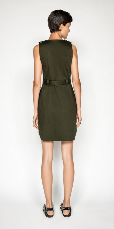 Dresses | Utility Snap Front Dress