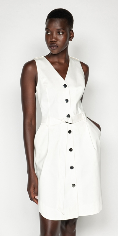 Dresses | Utility Snap Front Dress