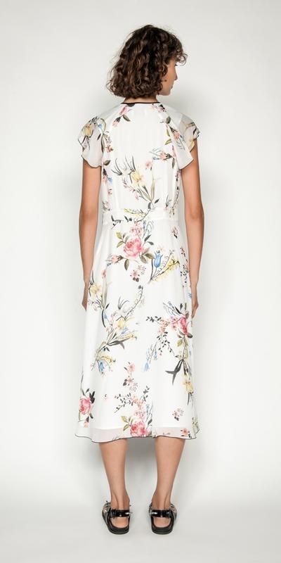 Dresses | Oriental Blossom Midi Dress