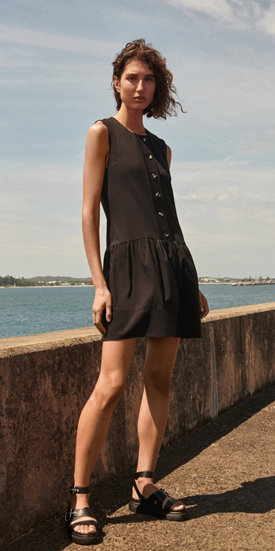Made in Australia  | Cotton Button Front Dress
