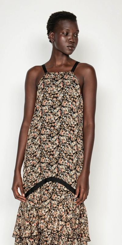 Dresses | Mini Floral Midi Dress