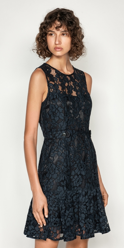 Made in Australia  | Corded Floral Lace Dress