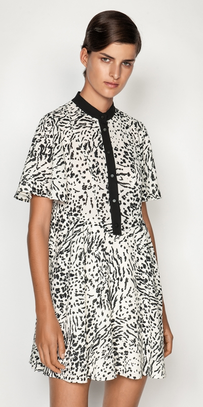 Dresses  | Monochrome Animal Dress