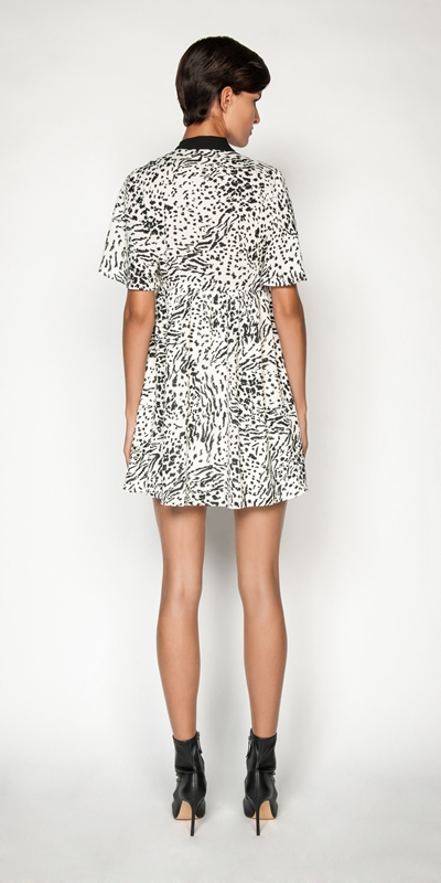 Dresses | Monochrome Animal Dress