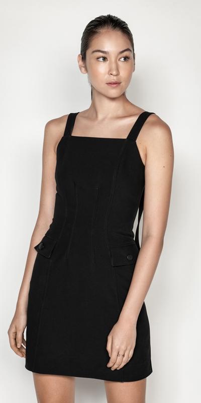 Dresses | Square Neck Shift Dress