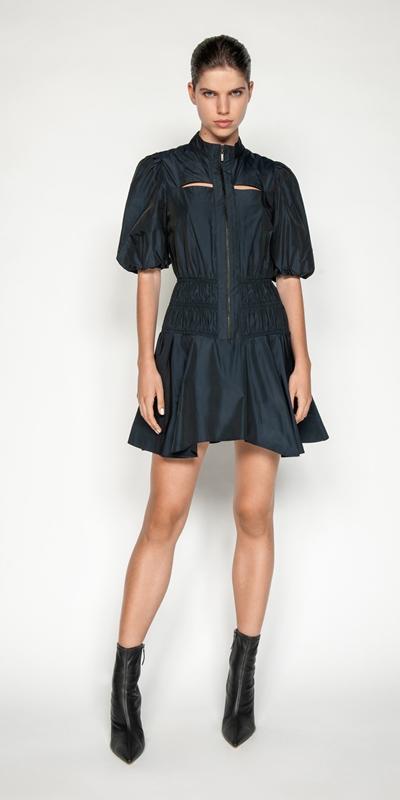 Dresses | Tech Shirred Waist Dress