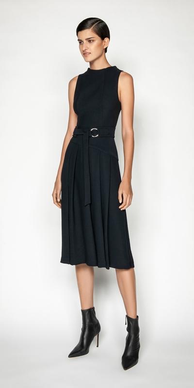 Dresses | Pleated Midi Dress