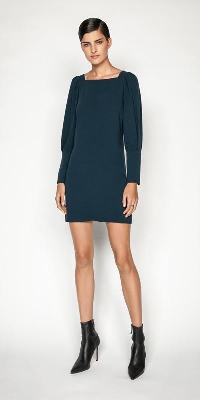 Dresses | Puff Sleeve Shift Dress