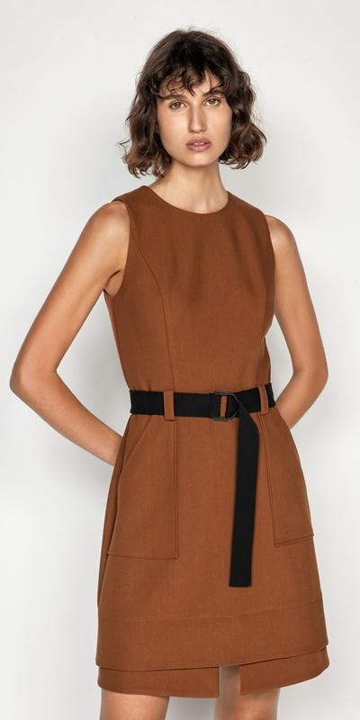 Sale  | Cinnamon A-line Dress