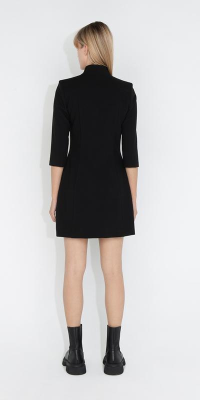 Dresses   Snap Front Dress