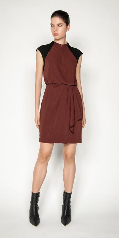 Dresses | Drapey Zip Front Dress