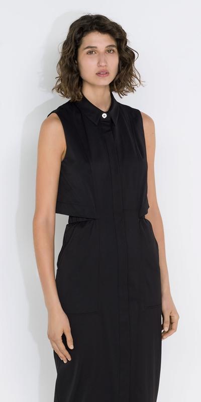 Dresses  | Cut Out Midi Dress