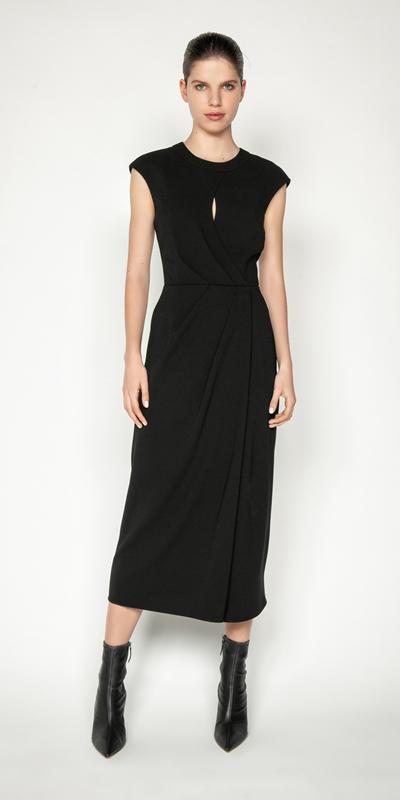 Dresses | Keyhole Midi Dress