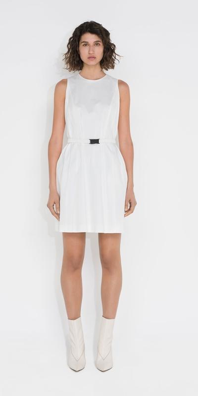 Dresses | Cotton Sleeveless Mini Dress