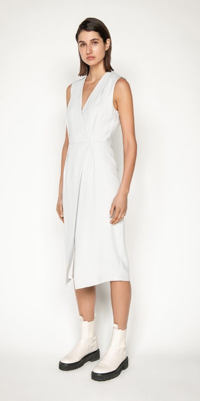 Dresses | Cross Over Back Dress