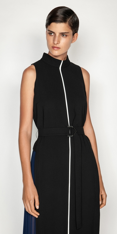 Dresses  | Spliced Column Maxi Dress