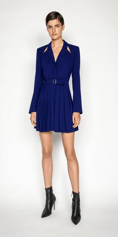 Dresses | Ultra Cobalt Blazer Dress