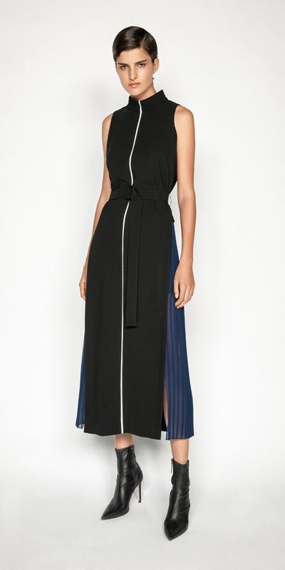 New Arrivals |  Spliced Column Maxi Dress