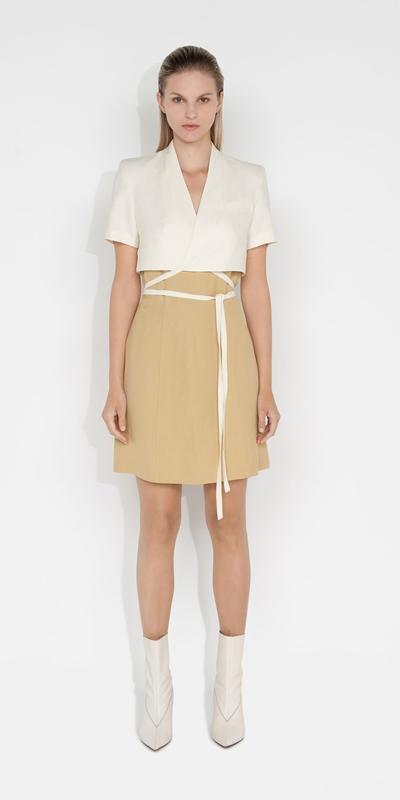 Dresses | Layered Wrap Mini Dress