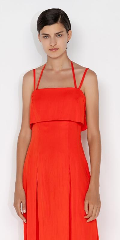 Dresses  | Halter Side Split Dress
