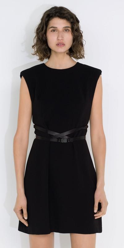 Dresses  | Belted Shift Dress