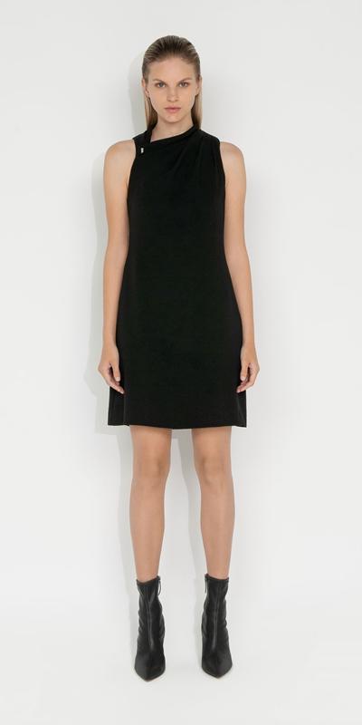 Dresses | Tucked Shoulder Dress