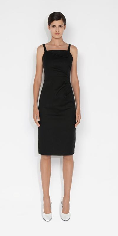 Dresses | Asymmetric Cross Back Dress