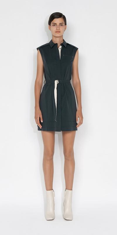 Dresses | Cotton Shirt Dress