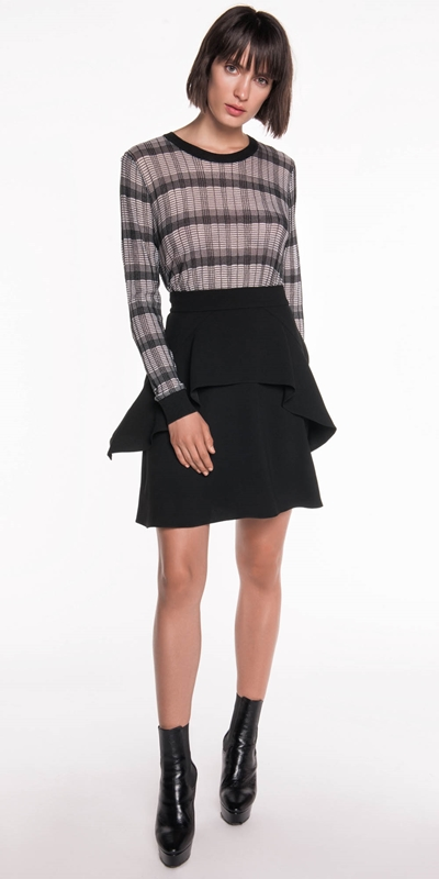 Sale | Crepe Frill Skirt