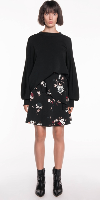 Skirts | Petal Floral Frill Skirt