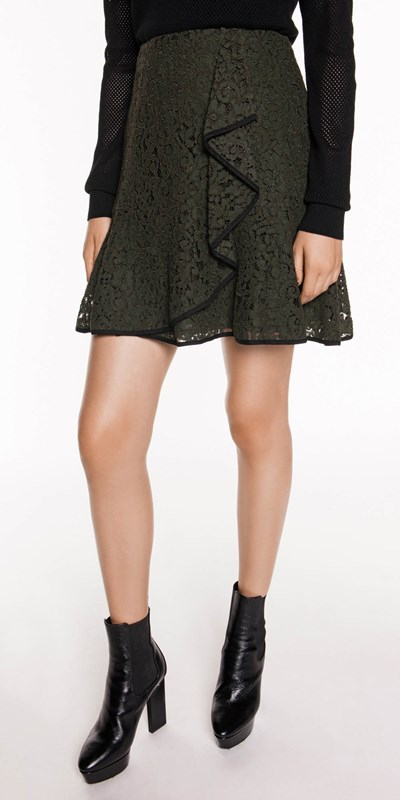 Sale  | Corded Lace Frill Skirt